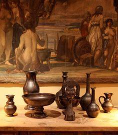 BC FINDS: Collection of Ceramics by (the handsome) Jean Marais, 1970s, France | #BlackmanCruz