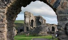 Aberystwyth castle, at one time guarded by one of the largest Iron Age forts in West Wales, Aberystwyth has been a place of strategic importance throughout history.
