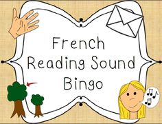 Reading sound bingo!