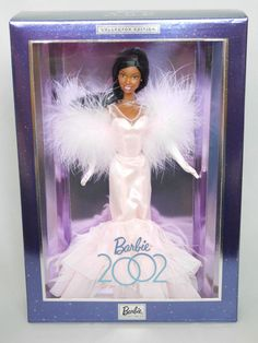 Rare BARBIE DOLL 2002 (AA BRANDY Facemold) Collector Edition DAZZLES!_53976_NRFB #BARBIE #DollswithClothingAccessories