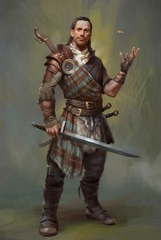 Bjard Ironhand, a bard by name but a hypnotist by nature he enthralls men with his enchanted lute.