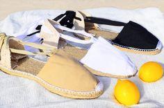 IBIZA Lace Up Vegan Espadrilles Organic Cotton Women by IBICENCAS