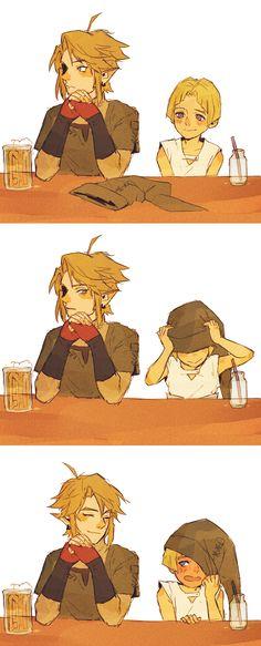 Bayneezone, Zelda no Densetsu, Twilight Princess (Game), Twilight Link, Colin (Legend Of Zelda), Link