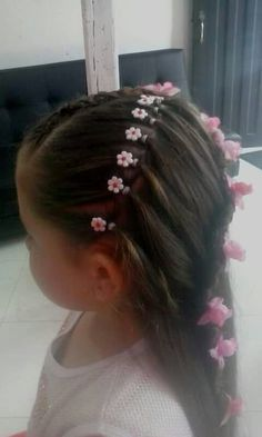 Que Dance Hairstyles, Tips Belleza, Braided Updo, Updos, Diana, Piercings, Braids, Hair Beauty, Hair Styles