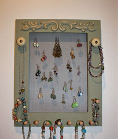 Easy to DIY with an old frame and some chicken wire or screen