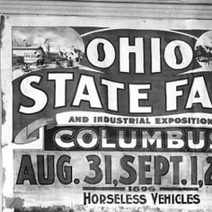 Ohio State Fair Advertising Poster :: Columbus in Historic Photographs