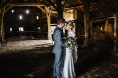 The Grade I listed Tithe Barn houses machinery that could have been used when East Riddlesden Hall was agricultural land. We love it when couples use it as a photo backdrop! Photo by Joe Stenson