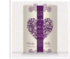 Personalised Wedding Day & Evening Invitations Invites With Envelopes | eBay