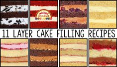 Recipe and instructions on how to make summer fruit filling for wedding cakes, sculpted cakes, and all occasion layer cakes by Wicked Goodies Cake Filling Recipes, Cake Flavors, Frosting Recipes, Cake Recipes, Yummy Recipes, Dessert Recipes, Cake Decorating Techniques, Cake Decorating Tips, Chocolate Filling For Cake