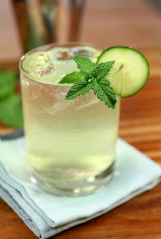 How to Gin Mint Cucumber and Orange Blossom Water Cocktail