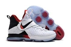 wholesale dealer a09d1 c5b31 Find Cheap Nike LeBron James 14 White Black Red Lebron XIV For Sale Fashion  Sneakers Basketball Shoe online or in Nikelebron. Shop Top Brands and the  latest ...