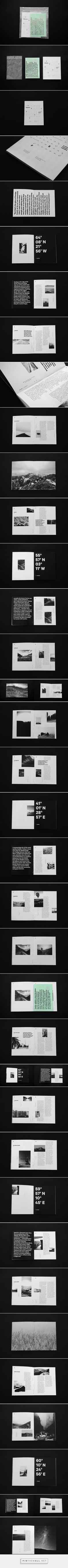 Itinerary on Behance