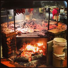 Take a nice meaty red to go with the brisket or the hearty pork rib plate. No fee for BYOB. The Salt Lick in Driftwood, TX