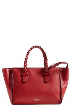 9e60f2dd3c48 Valentino  Small Vitello  Leather Tote available at  Nordstrom go  nordstrom! Tote Handbags