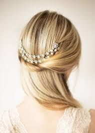 Image result for simple wedding hair ideas