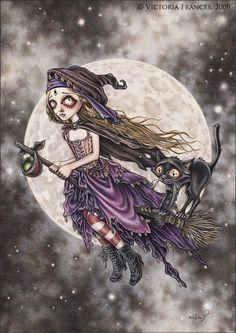 El vuelo de la bruja by Victoria Frances
