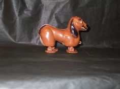 Vintage Japan Plastic Marx Like Dachshund Dog Ramp by Putummupp, $7.99