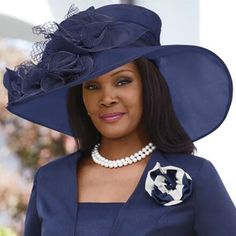 9ab8671bb7b Crystalle Church Hat by EY Signature Church Hats