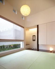 MonoTone の家//和室 モダン Asian Interior, Japanese Interior, Japanese Design, Japanese Architecture, Contemporary Architecture, Interior Architecture, Interior Design, Zen Design, House Design