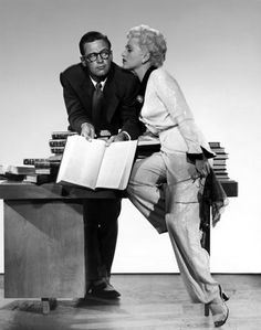 "William Holden and Judy Holliday in ""Born Yesterday""  (1950)  Judy Holliday - Best Actress Oscar 1950"