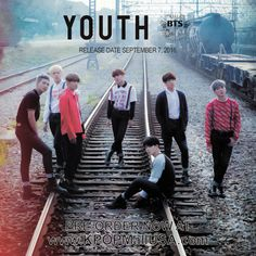 Official BTS Youth Japanese Album CD & Poster | KPOP Mall USA