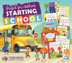 Have a little one entering Pre-K or Kindergarten ? Usborne Books has the perfect resources and homework helpers for them !!