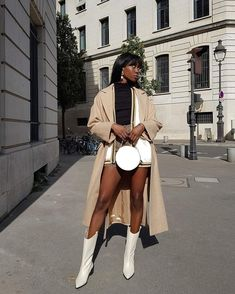 Casual Fall Outfits, Cute Outfits, Girl Outfits, Preppy Girl, Black Girl Aesthetic, Black Women Fashion, Mode Vintage, Minimal Fashion, Types Of Fashion Styles