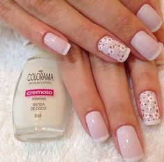 Floral Great Nails, Perfect Nails, Cute Nails, Nails Now, My Nails, Fancy Nails, Pink Nails, Stylish Nails, Manicure And Pedicure