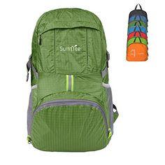 Best Lightweight: Sumtree Lightweight Foldable Packable Backpack
