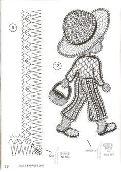 Risultati immagini per anjeli katarina buranova palickovanie sk Lace Making, Book Making, Bobbin Lace Patterns, Crochet Patterns, Teaching Patterns, Bruges Lace, Picasa Web Albums, Lace Design, Irish Crochet
