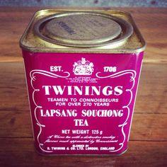 Twinings Lever Lid Tea Tin Barnsley Canister Company