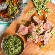 Lamb Cutlets Salsa Verde