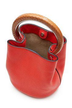 Pannier Leather Shoulder Bag | Marni