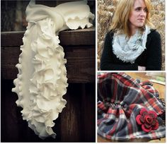 How to make these fun scarves :)