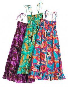 RETRO dámské letní šaty - fair trade oblečení z biobavlny, bambusu, konopí, modalu, tencelu a merino, přírodní kosmetika, bambucké máslo, fairtrade bytové doplňky