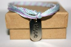 Inspirational Friendship Bracelets by SugaPlums on Etsy, $6.00 I want this!!!