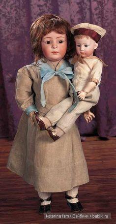Немецкие братья Хойбах и их сказочные творения. Антикварные куклы Heubach / Авторская кукла известных дизайнеров / Бэйбики. Куклы фото. Одежда для кукол