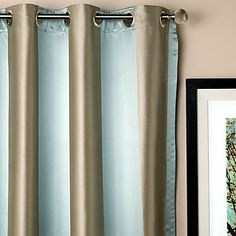 Ideas for curtains.  Make from calico/burlap or calico/linen/cottom and aquamarine