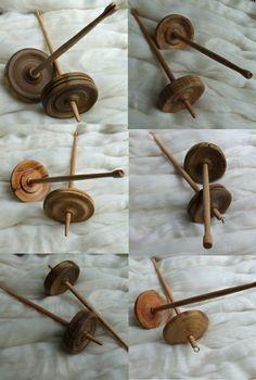 handgefertigte Handspindel aus wunderschönen Hölzern 5 - Handspindeln - Das Wollschaf (natürlich & kreativ)