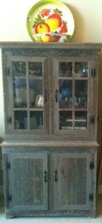 Hand Made Rustic China Cabinet Made Out Of By TinBarnDesigns, $400.00