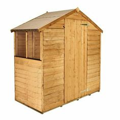 BillyOh 20S Rustic Economy Overlap Apex Shed - Cheap Wooden Sheds