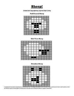 "Intarsia Charts pattern by Steph Conley.love the bottom one "". Intarsia Charts pattern by Steph Conley….love the bottom one ""…, Fair Isle Knitting Patterns, Fair Isle Pattern, Knitting Charts, Knitting Stitches, Free Knitting, Sock Knitting, Knitting Machine, Vintage Knitting, Manta Animal"