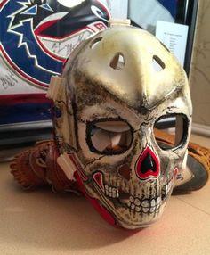 gary bromley vintage goalie masks