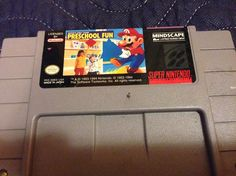 Shared by religion1331 #retrogaming #microhobbit (o) http://ift.tt/2cA0Jp5 dear god! It's a non Nintendo produced Mario game on the SNES and it's as bad as you think. I get its for preschoolers but it's sooo bad!  #nintendo #snes #mindscape #mariosearlyyears #preschoolfun #game #gamer #games #gaming #gaming #gamecollector #gamecollecting #videogame #videogames #videogamecollector #videogamecollection #retro #retrogamer #retrogames  #retrcollective #retrogamecollection #collecting #collection