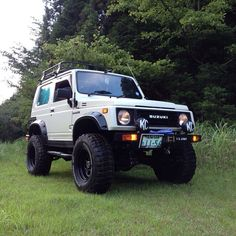 Suzuki samurai blanco sin winch, luces kc