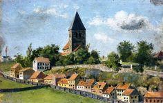 Edvard Munch - Telthusbakken with Gamle Aker Church