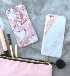 Marble in Rose + Coral  #elementalcases #iphoneonly available for iPhone 6/6s and iPhone 6 Plus 6s Plus