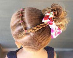coiffure petite fille tresse originale idée rentrée tout type cheveux #hairstyles #girls