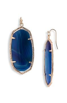 Kendra Scott 'Danielle - Large' Oval Statement Earrings | Nordstrom