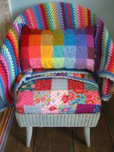 Attic 24 : Colourblock cushion